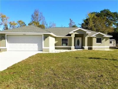 Hernando County Single Family Home For Sale: 10395 Norvell Road