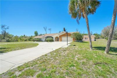Weeki Wachee Single Family Home For Sale: 5963 Patricia Place