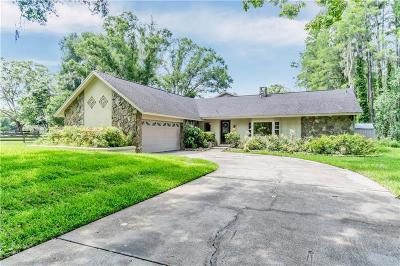 Lutz Single Family Home For Sale: 1321 Anglers Lane
