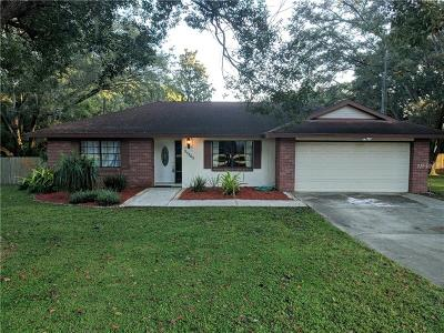 Dade City Single Family Home For Sale: 37305 Orange Blossom Lane