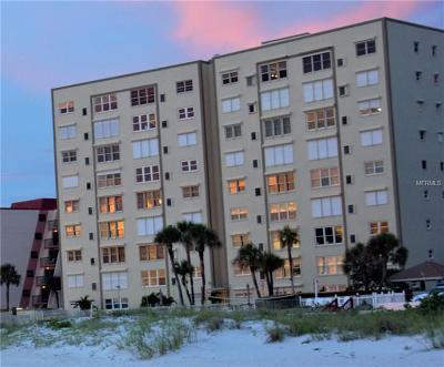 St Pete Beach Condo For Sale: 5000 Gulf Boulevard #903