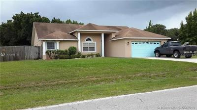 Mulberry Single Family Home For Sale: 3485 Espo Drive