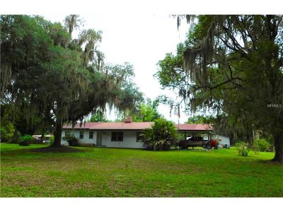 Fort Meade FL Single Family Home For Sale: $124,900