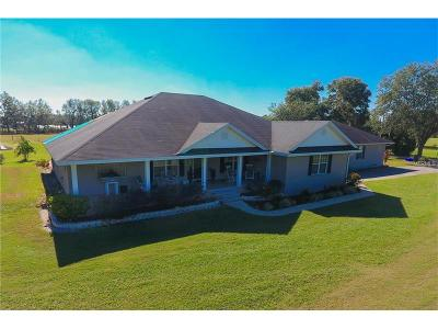 Lakeland Single Family Home For Sale: 2580 W Socrum Loop Road