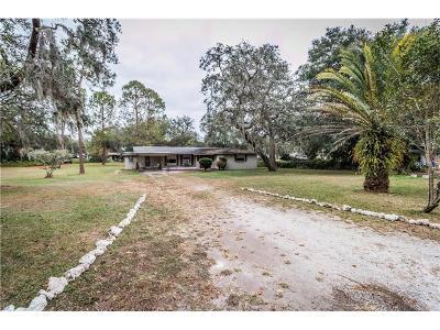 Dade City Single Family Home For Sale: 34781 Gardenia Way