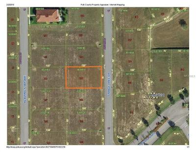 Lake Alfred Residential Lots & Land For Sale: 165 Fringe Tree Drive