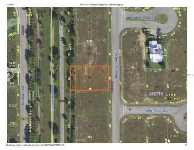 Lake Alfred Residential Lots & Land For Sale: 223 Blazing Star Avenue