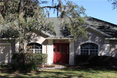 Lakeland Single Family Home For Sale: 1610 Sherwood Lakes Boulevard