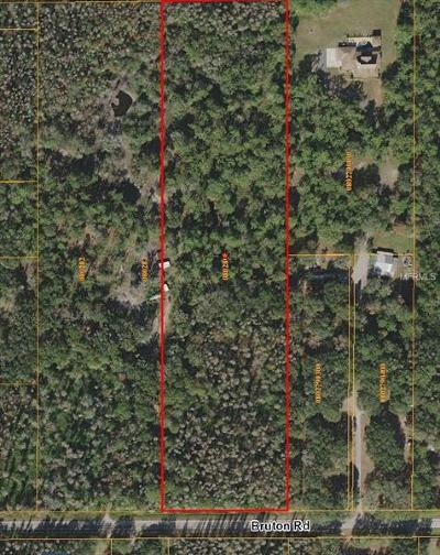 Plant City Residential Lots & Land For Sale: 5900 Bruton Road