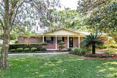 Single Family Home For Sale: 1309 Lake Miriam Drive