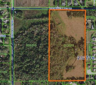 Lakeland Residential Lots & Land For Sale: 7835 Kathleen Road
