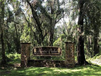 Plant City Residential Lots & Land For Sale: Mystic Oaks Drive