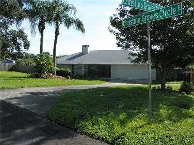 Lakeland Single Family Home For Sale: 6210 Christina Groves Circle E
