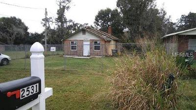 Lakeland Single Family Home For Sale: 2531 Burns Street