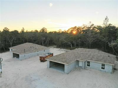 Hernando County Single Family Home For Sale: 0 Myland Avenue