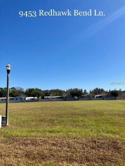 Lakeland Residential Lots & Land For Sale: 9453 W Redhawk Bend Lane