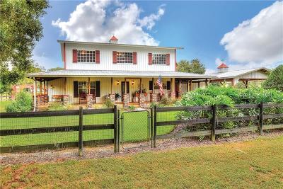 Lakeland Single Family Home For Sale: 5710 Hendricks Road