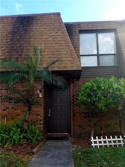 Lakeland Townhouse For Sale: 1836 N Crystal Lake Drive #46