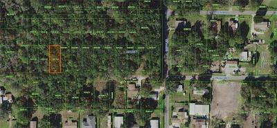 Auburndale Residential Lots & Land For Sale: Shirah Road