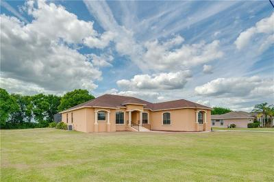 Lakeland Single Family Home For Sale: 15118 Evans Ranch Road