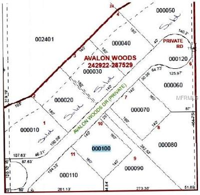 Lakeland Residential Lots & Land For Sale: 6450 Avalon Woods Drive