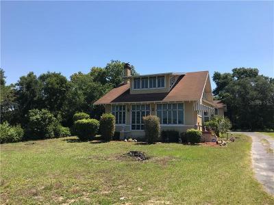 Lake Alfred Single Family Home For Sale: 350 S Carolina Avenue