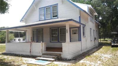 Single Family Home For Sale: 510 Avenue A Wahneta E #A