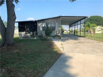 Polk City Mobile/Manufactured For Sale: 4910 Shore Line Drive