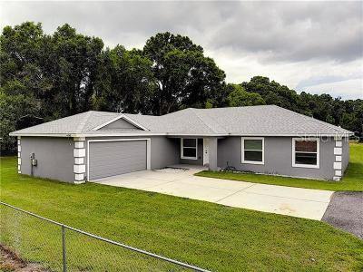 Lakeland Single Family Home For Sale: 8200 Tom Gilbert Road