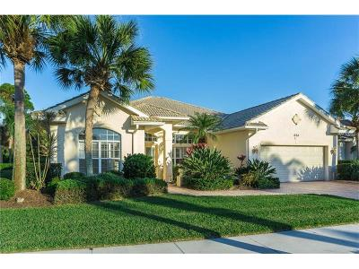Venice Single Family Home For Sale: 624 Pond Willow Lane