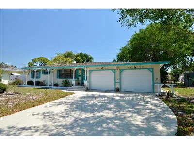 Venice Single Family Home For Sale: 717 Nokomis Avenue S