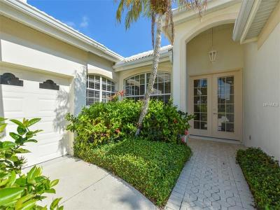 Venice Golf & Country Club Single Family Home For Sale: 511 Cheval Drive