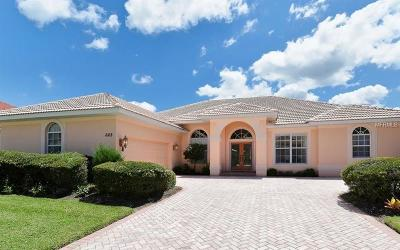 Venice Single Family Home For Sale: 668 Sawgrass Bridge Road