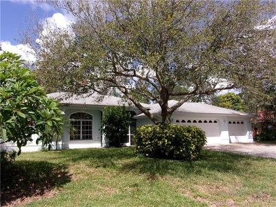 Venice FL Single Family Home For Sale: $295,000