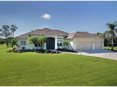 Port Charlotte Single Family Home For Sale: 13295 Windcrest Drive