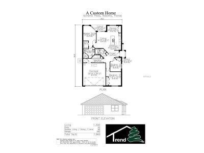 Nokomis Villa For Sale: 814 Sorrento Place #3