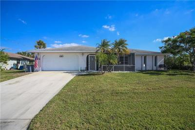 Venice Single Family Home For Sale: 1161 Linden Road