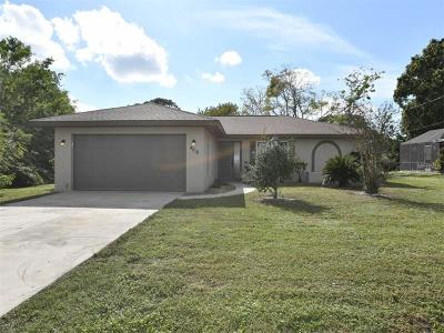 Venice Single Family Home For Sale: 4018 Amber Road