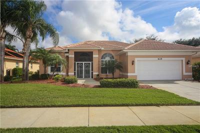Venice Single Family Home For Sale: 625 Balsam Apple Drive