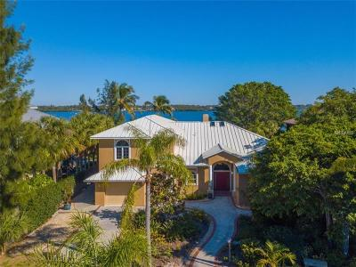 Single Family Home For Sale: 7785 Manasota Key Road