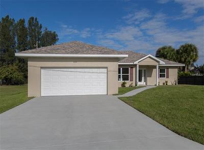 Venice Single Family Home For Sale: 634 Carmel Road