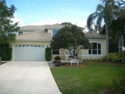 Nokomis Single Family Home For Sale: 1619 Jacana Court