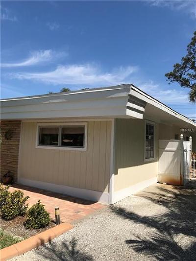 Venice Single Family Home For Sale: 4919 Lemon Bay Drive