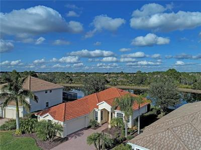 Venice Single Family Home For Sale: 11375 Dancing River Drive