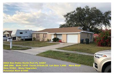 North Port Multi Family Home For Sale: 8564 San Pablo Avenue