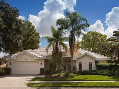 Venice Single Family Home For Sale: 314 Venice Golf Club Drive