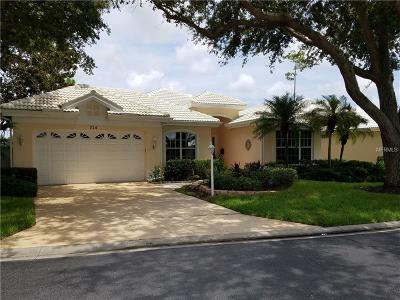 Venice Golf & Country Club Single Family Home For Sale: 526 Cheval Drive
