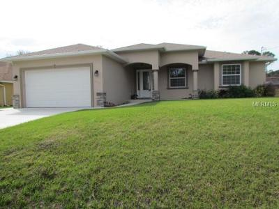 North Port Single Family Home For Sale: 3631 Roderigo Avenue