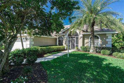 Venice Golf & Country Club Single Family Home For Sale: 141 Wayforest Drive