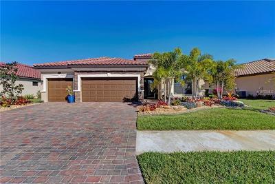 Venice Single Family Home For Sale: 13254 Famiglia Drive